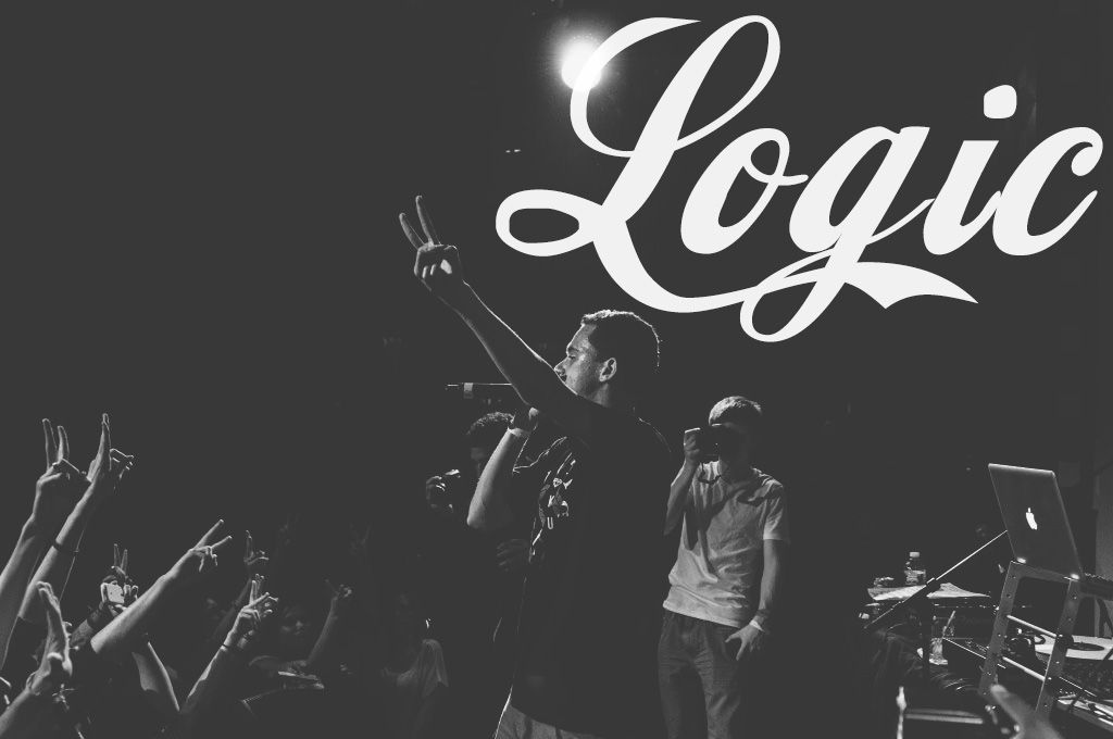Pin By Gracieee On Artists Logic Rapper Wallpaper