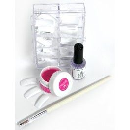 Uv Nails Extensions French Manicure From Rio The Beauty Specialists For Use With Rio Uv Nail Lamps The Comple Nail Extensions Uv Nails Gel Nail Extensions