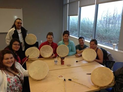 Hand drum workshop ACSD class