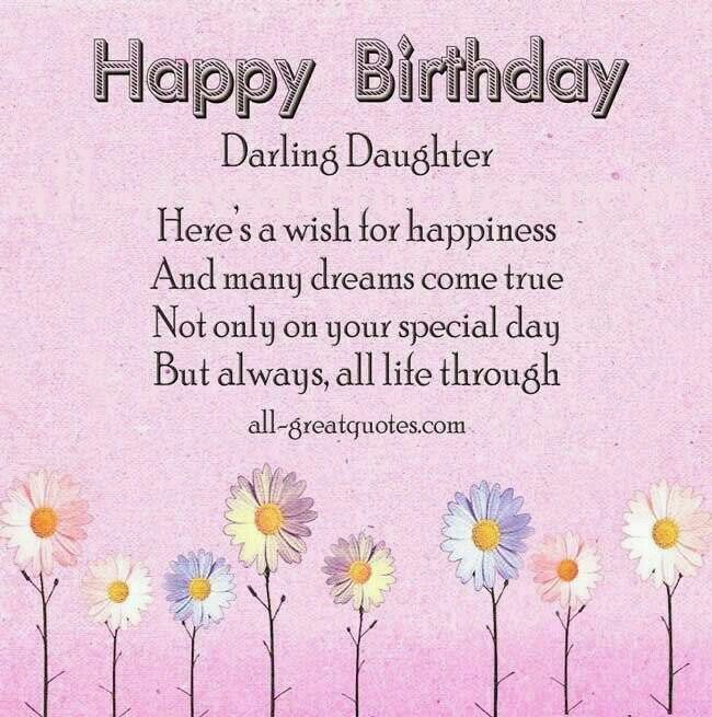 Pin by purple is me on happy birthday pinterest verses happy birthday wishes for daughter card and images free birthday wishes for daughter pictures and messages photo bookmarktalkfo Choice Image