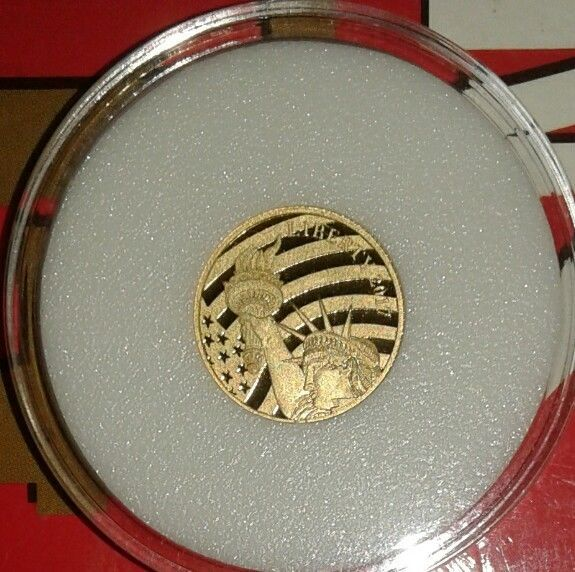 2011 Liberty Cook Island Gold 1//10 oz  .24 Pure Gold