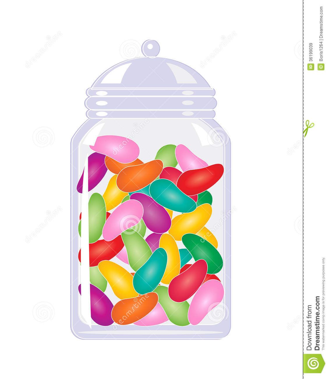 Free Jelly Bean Clipart, Download Free Clip Art, Free Clip ... |Jelly Bean Jar Clipart