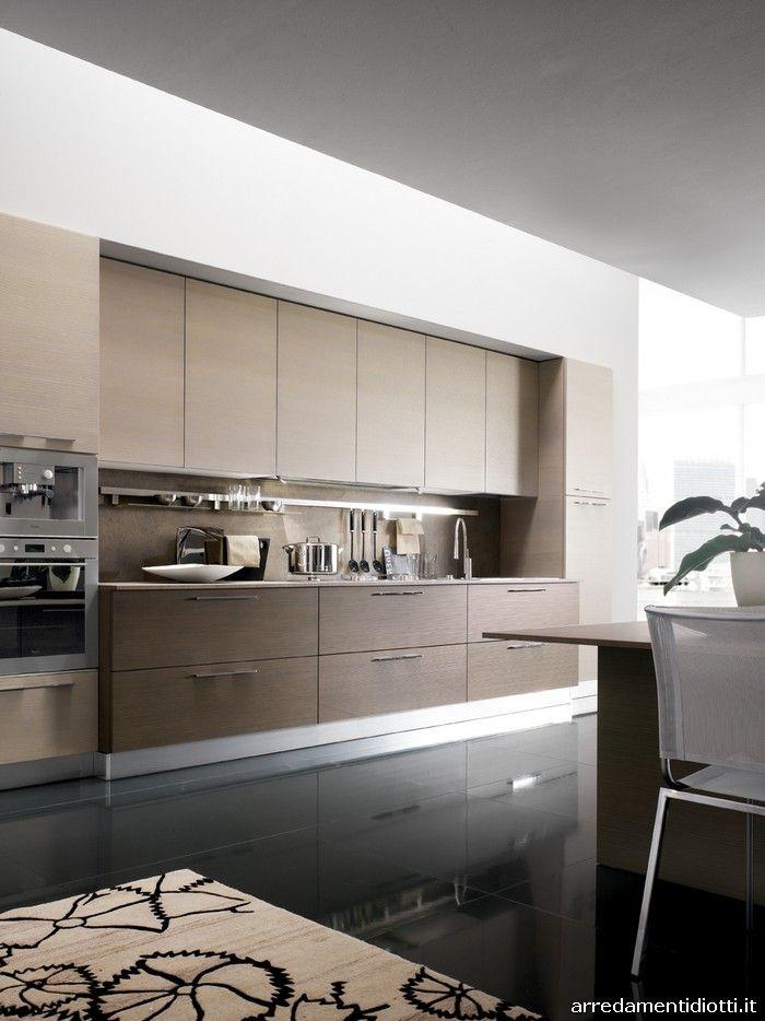 Sfera cucina moderna componibile - DIOTTI A&F Arredamenti | Cocinas ...
