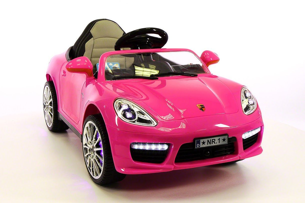 Porsche Boxster Style 12v Kids Ride On Car Mp3 Battery Powered Wheels Rc Remote Pink Kwakus Com Kids Ride On Toys Toy Cars For Kids Kids Ride On