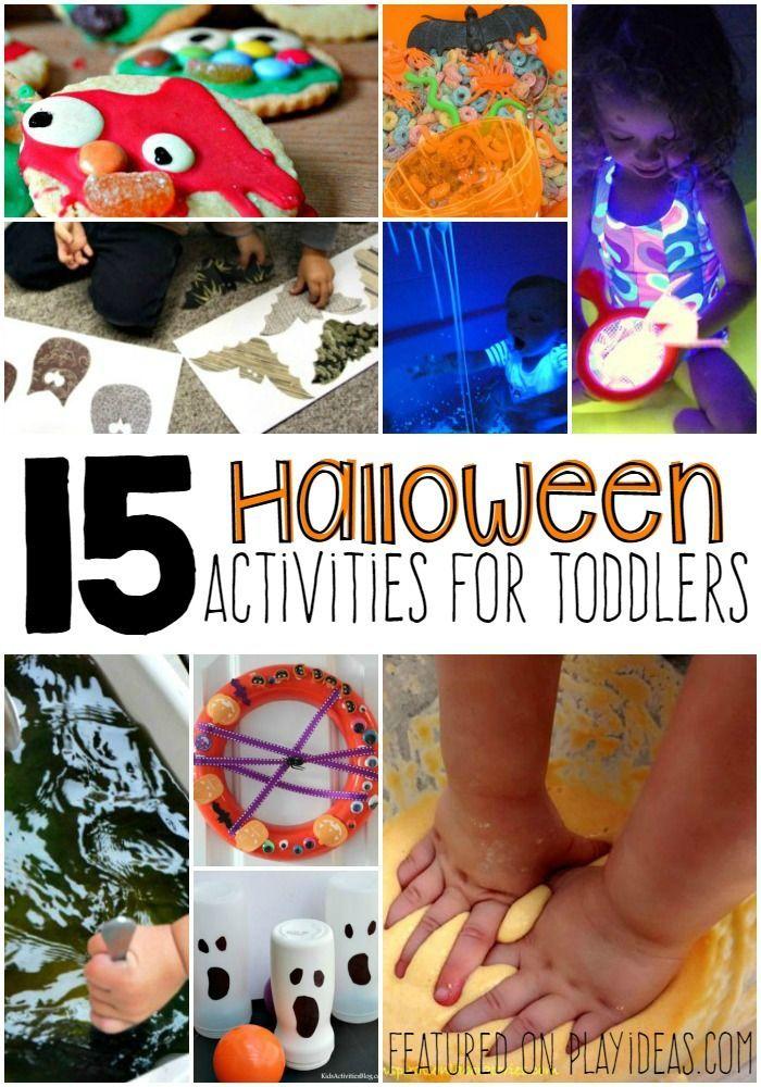 15 Halloween Activities For Toddlers Activities, Kid activities - halloween activities ideas