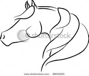 Horse Head Outline Drawings Bing Images Horse Tattoo Horse Drawings Outline Drawings