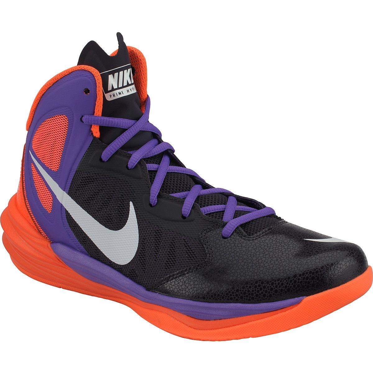 NIKE Men's Prime Hype DF Mid Basketball Shoes Nike men