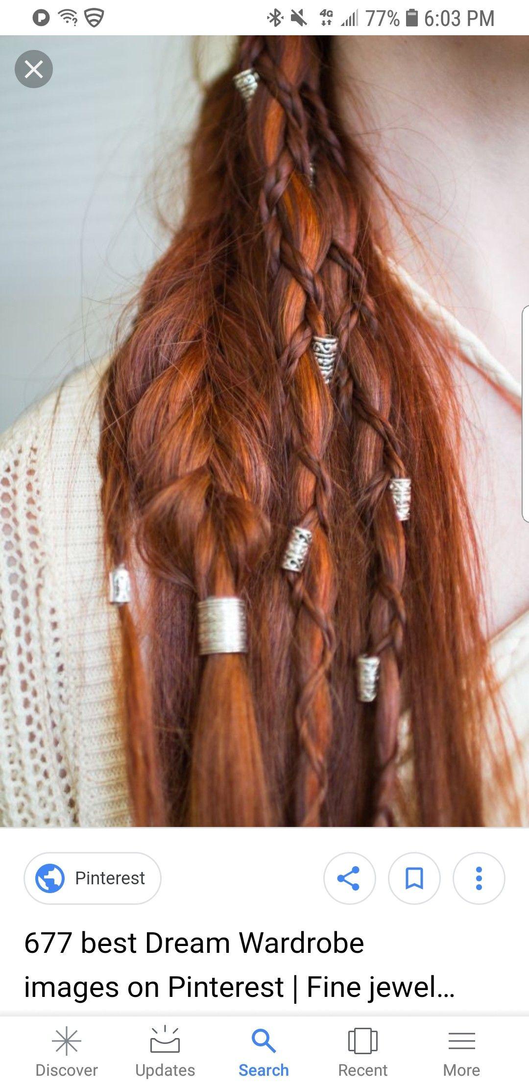 Pin by Mamiprincess on My Hair Viking hair, Hair styles