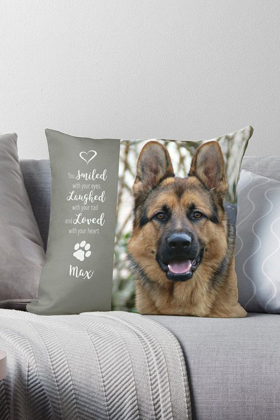 cb150695e998 Pet Photo Pillow 12BEHG - Pet Memorial - Dog Photo Pillow - Pet Memorial  Pillow - Cat Memorial - Custom Dog Pillow - Dog Memorial - Pet Loss