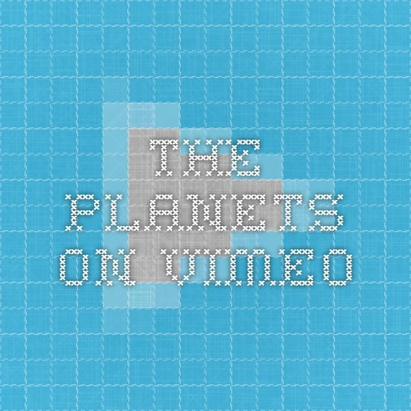 The Planets on Vimeo