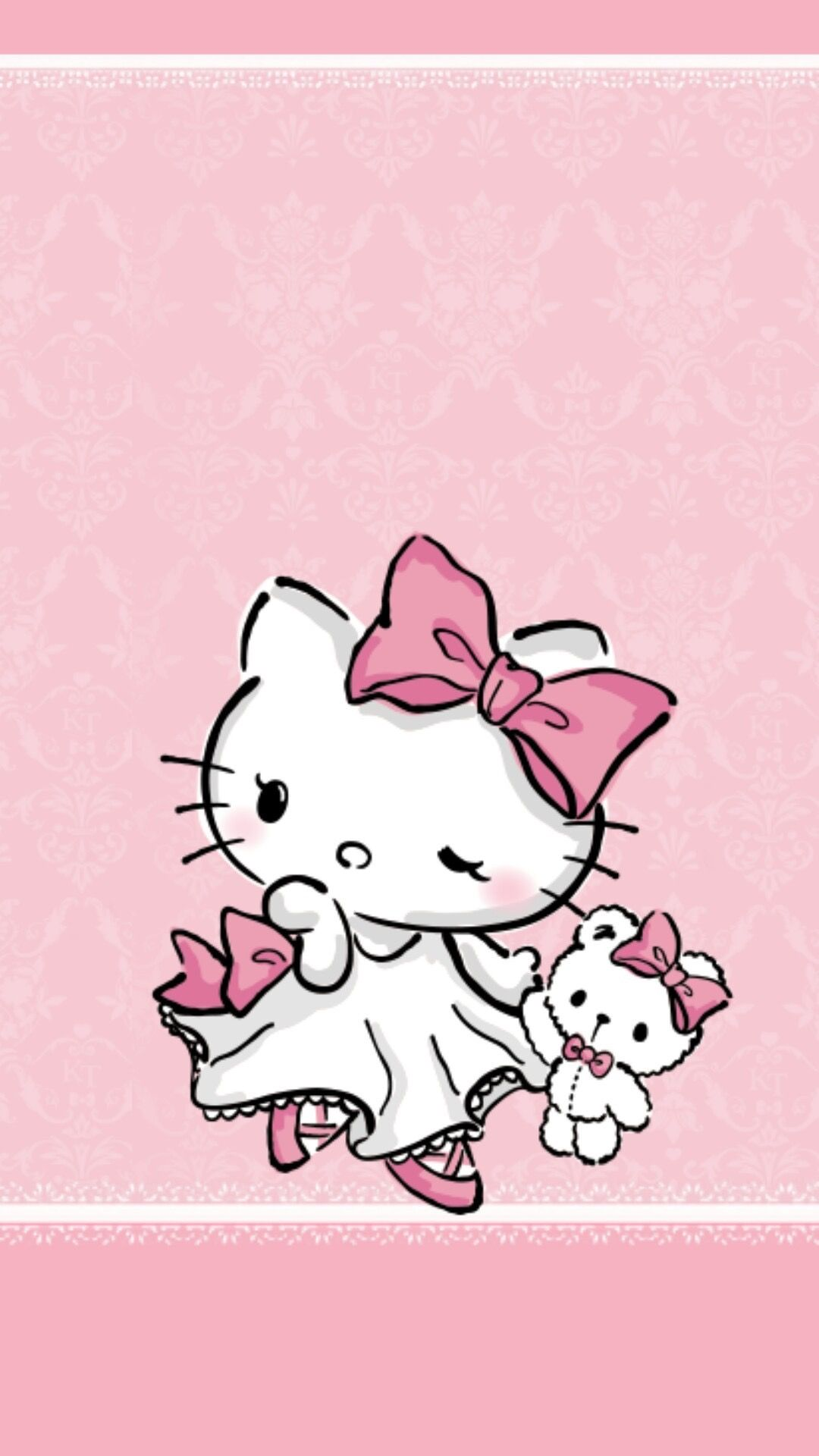 Hello Kitty And Friend Kawaii Cute And Pink Cosas De Hello