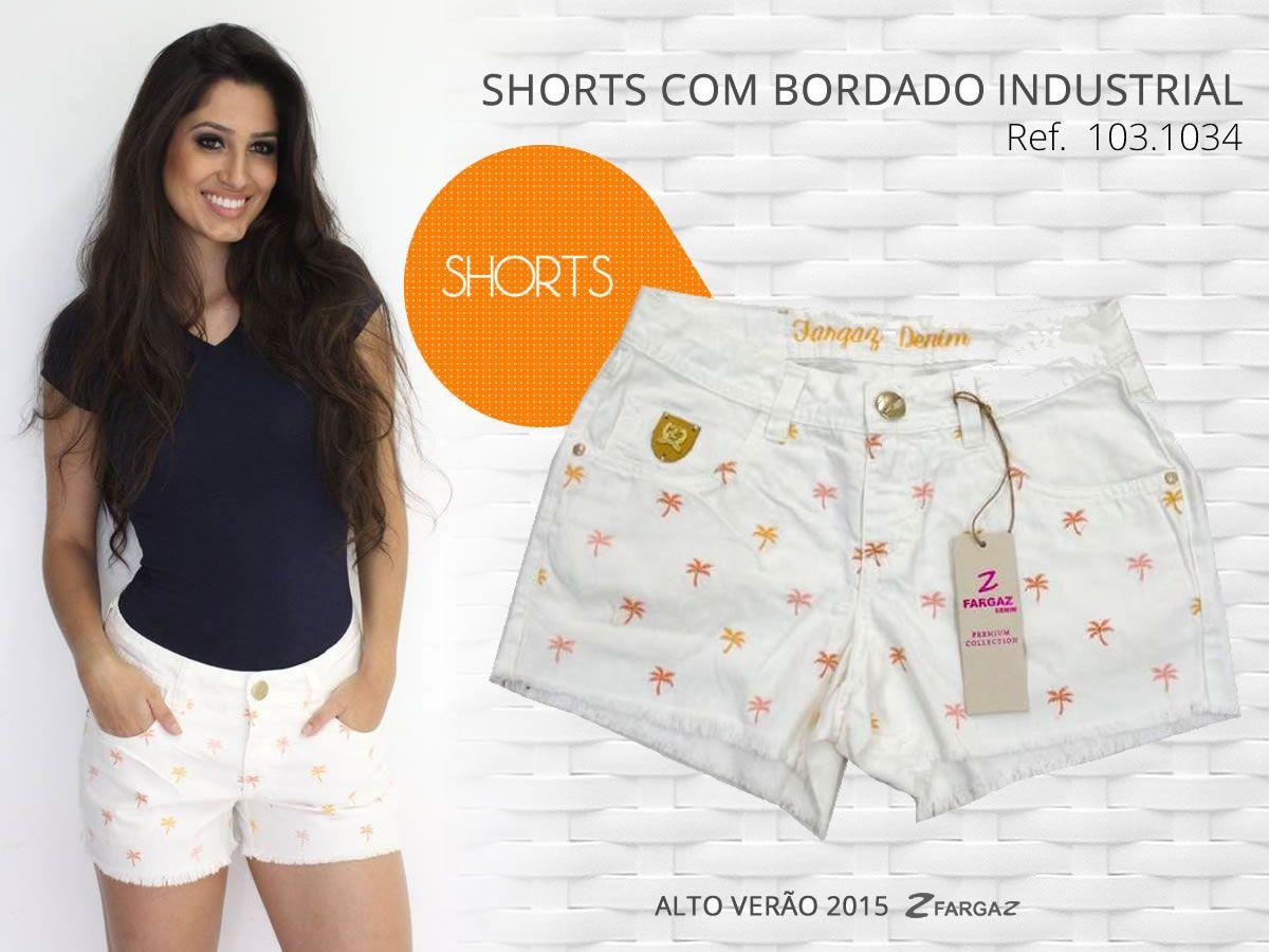 Lindo shorts da coleção Alto Verão da Fargaz! Primavera