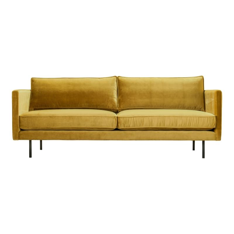 Moes Home Collection Wb 1002 In 2020 Moe S Home Collection Mustard Sofa Mid Century Modern Sofa