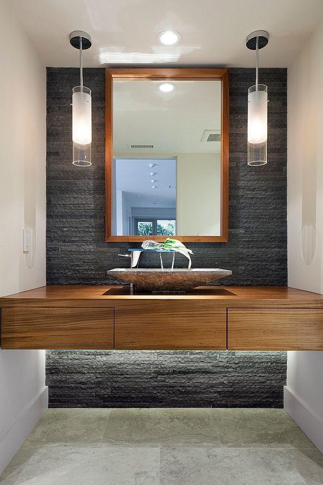 Grey wood floating vanity pendant lights bathroom envy grey wood floating vanity pendant lights aloadofball Choice Image