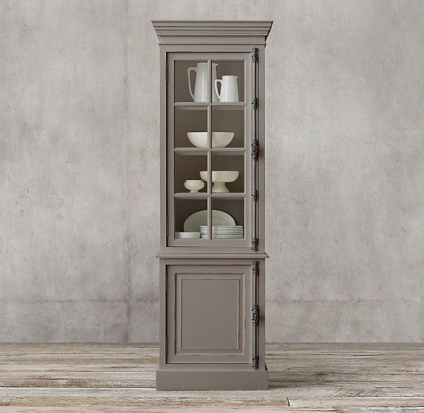 For The Dining Room Restoration Hardware French Casement Single Door Sideboard Hutch