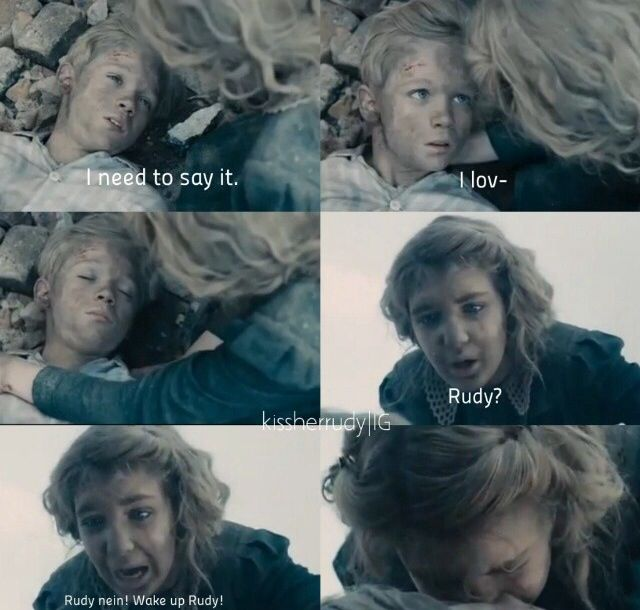 Rudy Steiner The Book Thief Quotes: Saddest Part Of The Movie. Why Rudy!!!!! :'(. The Book