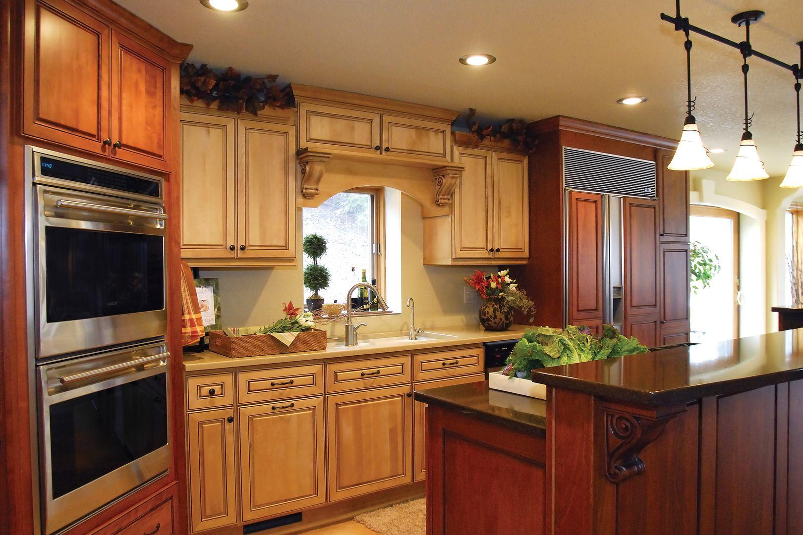 Two window kitchen design  exquisite kitchen designs south lyon mi  modern  fresh kitchens