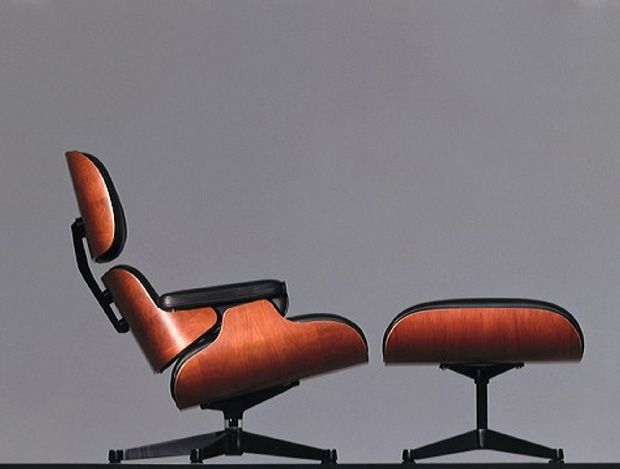 Eames Lounge Chair and Ottoman, correctly titled Eames Lounge (670 ...