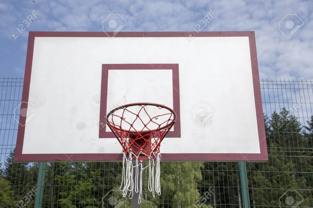 Basketball Board On The Sports Field Against The Sky Ad Board Basketball Sports S Basketball Workouts Basketball Birthday Parties Basketball Posters