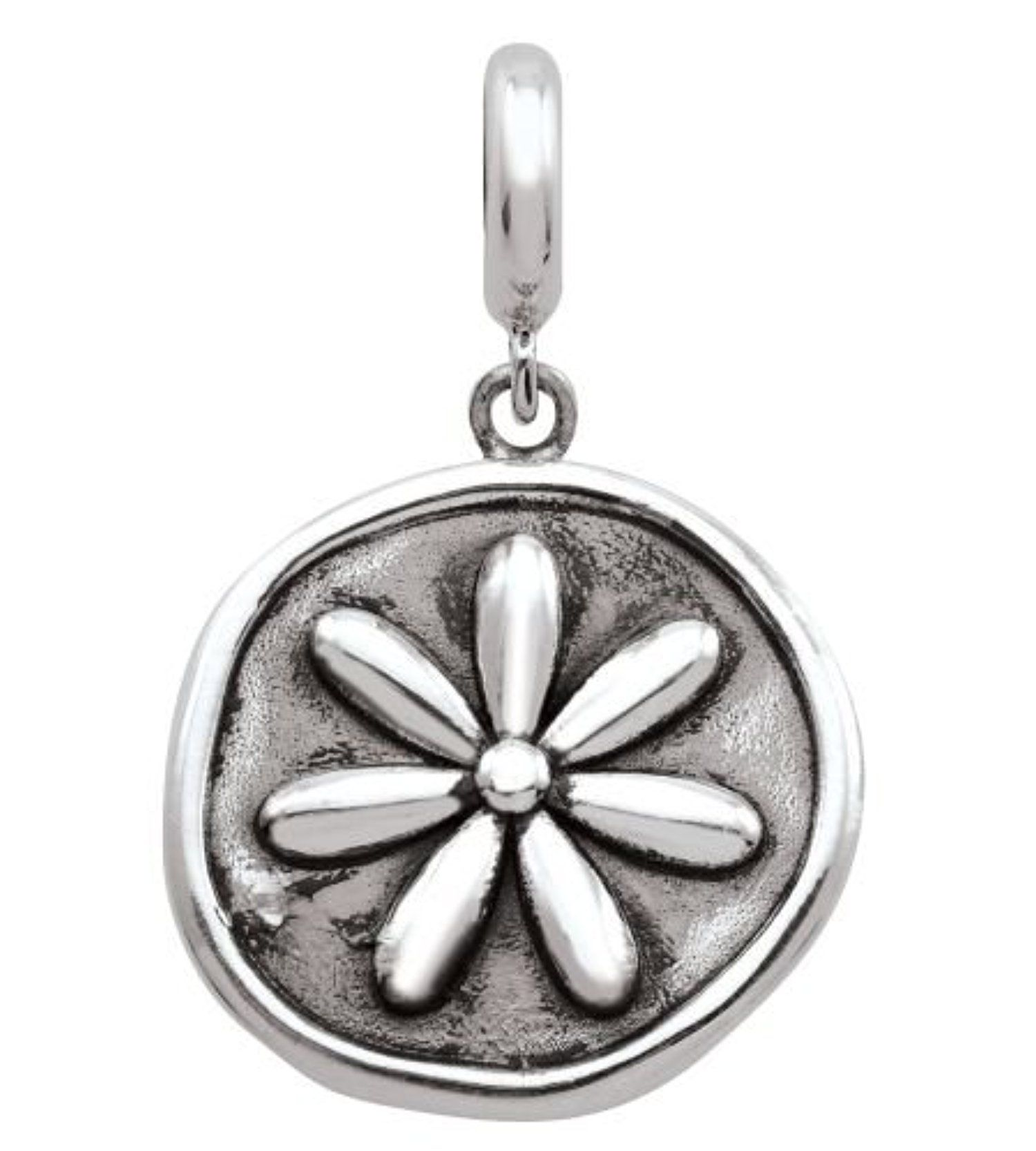 Persona Sterling silver WHERE FLOWERS BLOOM Charm Bead fits Pandora
