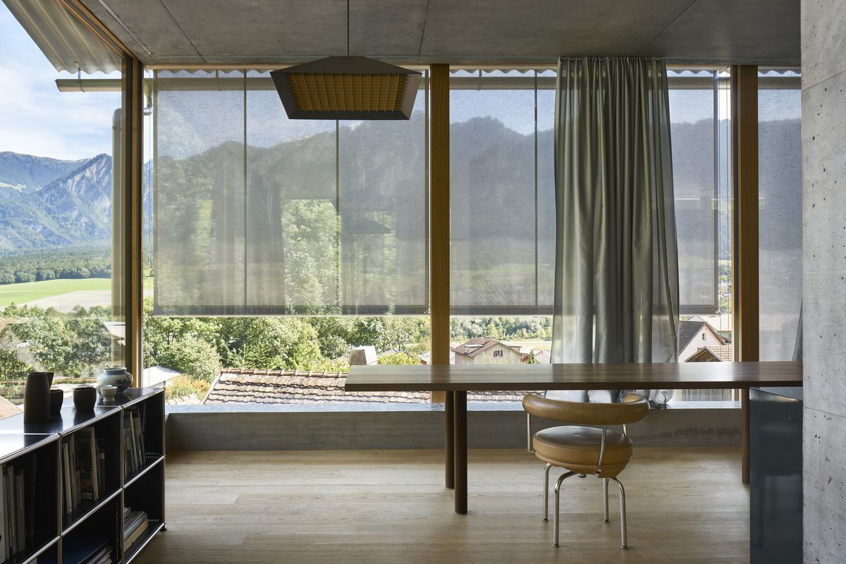 new atelier Zumthor Haldenstein, Switzerland Peter