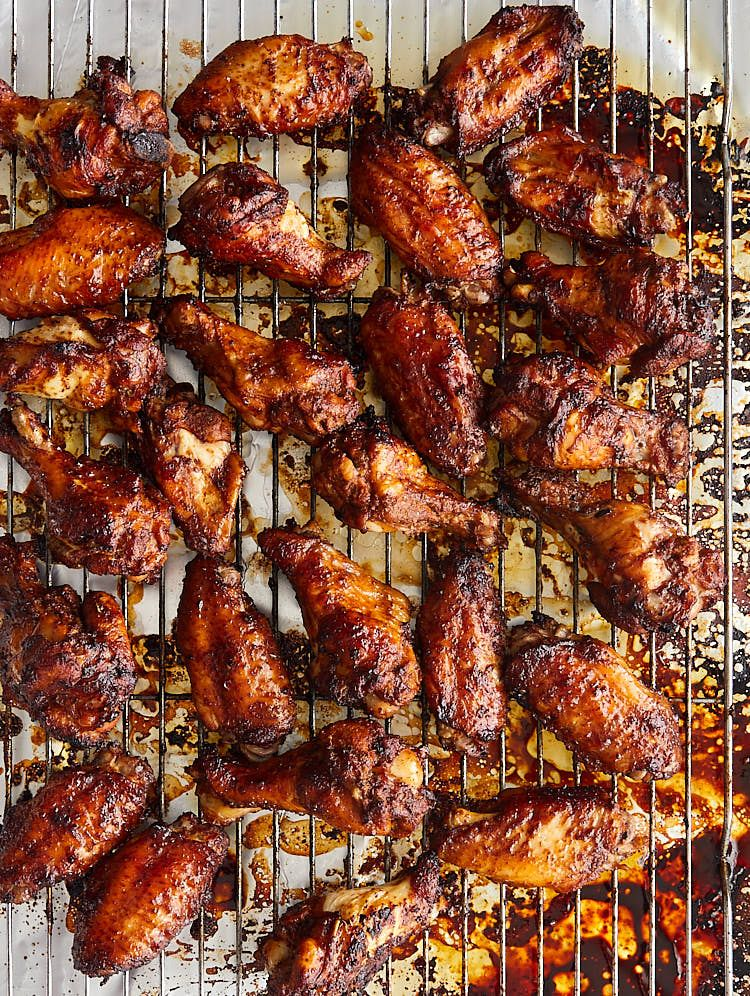 Perfectly Broiled Chicken Wings Recipe Ifoodblogger Com