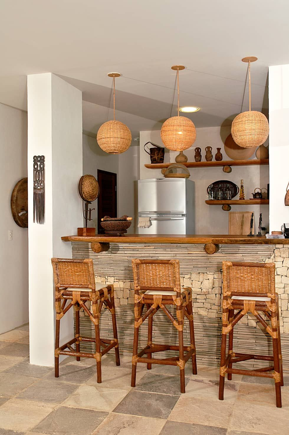 Bodegas De Estilo Rural De Isnara Gurgel Arquitetura Interiores - Decoracion-rural-interiores