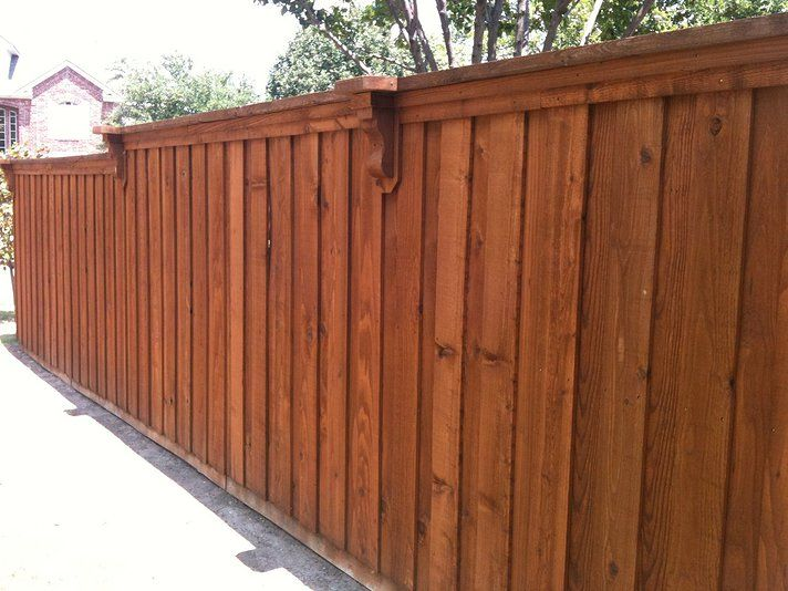 Pin By Rachael Fisher On Fences Wood Fence Design Fence Design Wooden Fence