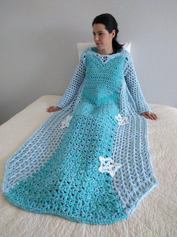 Princess Blanket Crochet Pattern Mother Daughter Matching