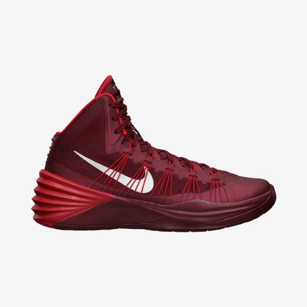 New Women's 12 Nike Zoom Hyperdunk 2013 Basketball Shoes Red