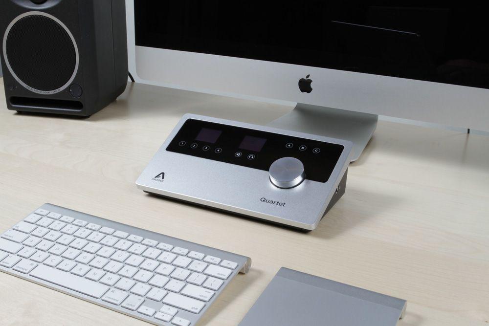 Quartet Usb Audio Interface Usb Audio Apple Products