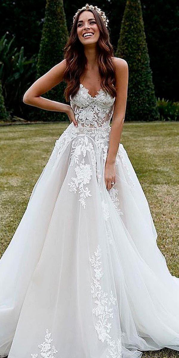 Пышные свадебные платья 2020   Свадебные платья, Пышные ...