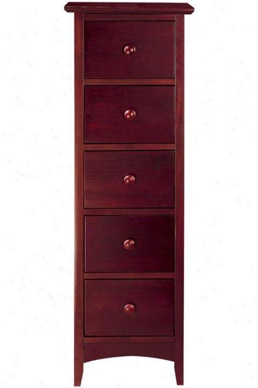narrow modernish lingerie chest