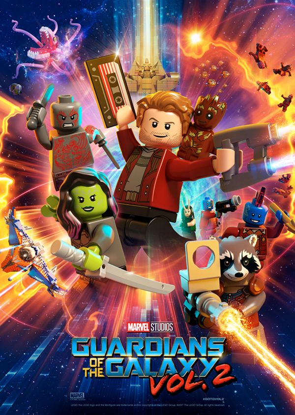 Guardians of the Galaxy Volume 2 Movie Poster Download   LEGO Super     Guardians of the Galaxy Volume 2 Movie Poster Download