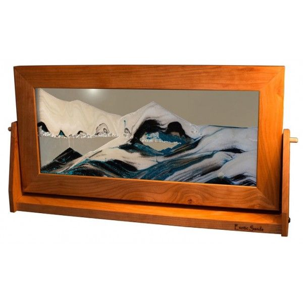 moving sand art x large cherry frames 9 x 16 - Moving Picture Frames