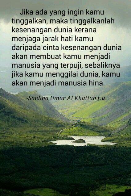 Hikmah Khalifah Umar Al Khattab Kutipan Bijak Kutipan Hidup