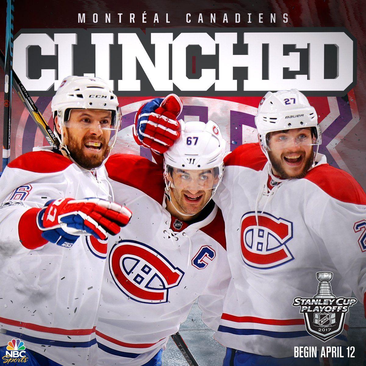 GOHABSGO 2017 Playoffs Montreal canadians, Canadiens