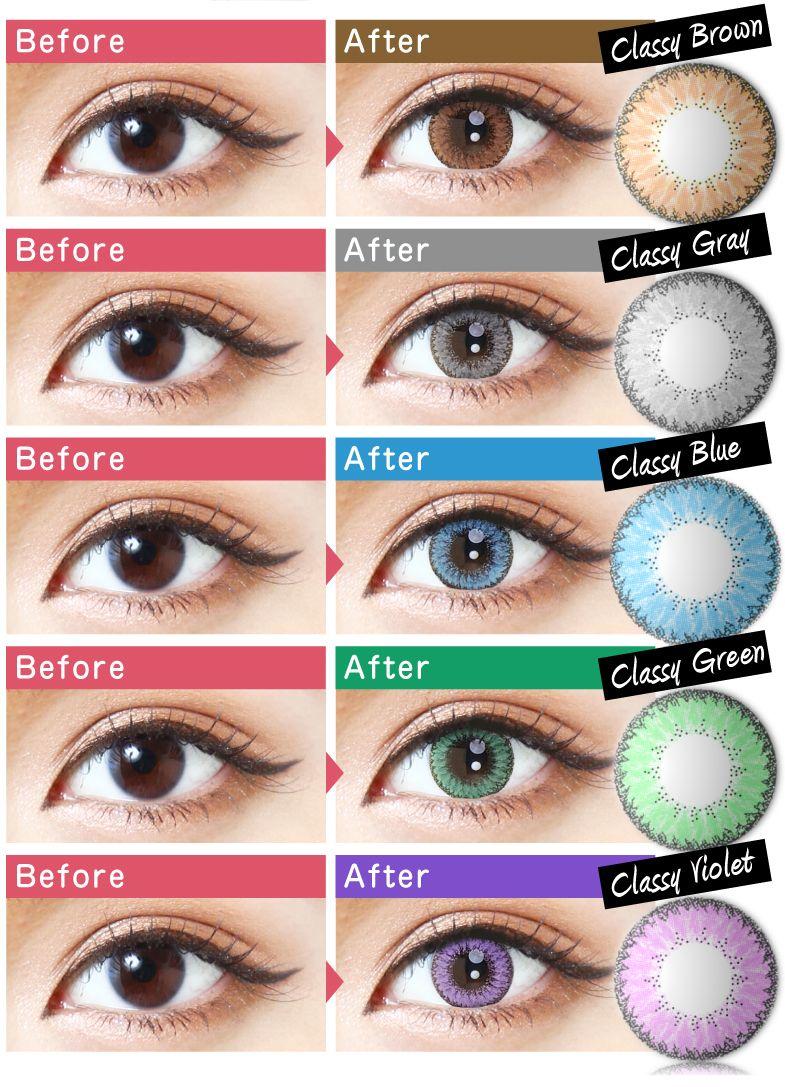 Color contact lenses online shop - Eos Fay Brown Brown Contact Lensescosmetic Contact Lensescolor