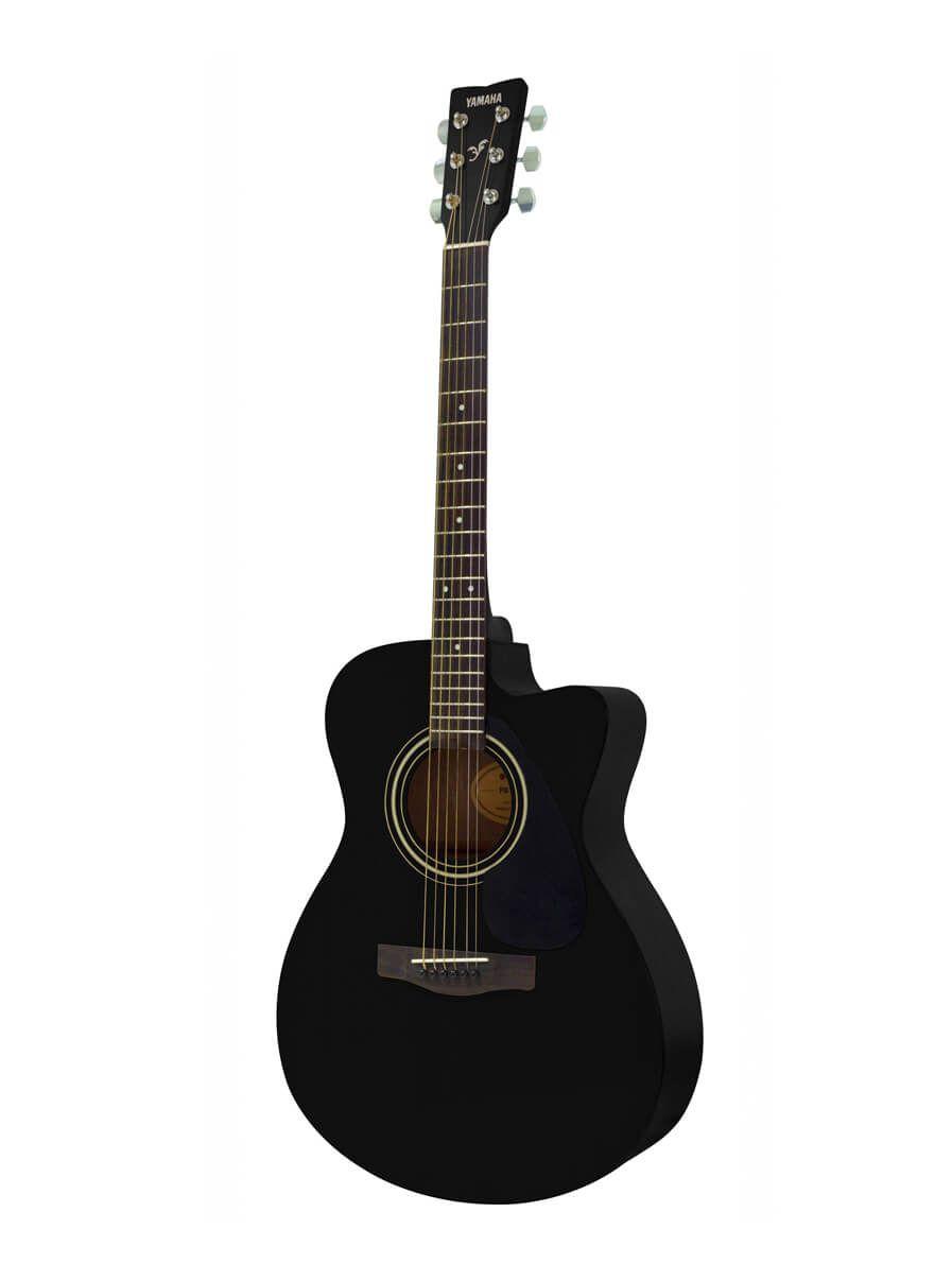 Yamaha Fs100c Black Acoustic Guitar Black Acoustic Guitar Guitar Acoustic Guitar