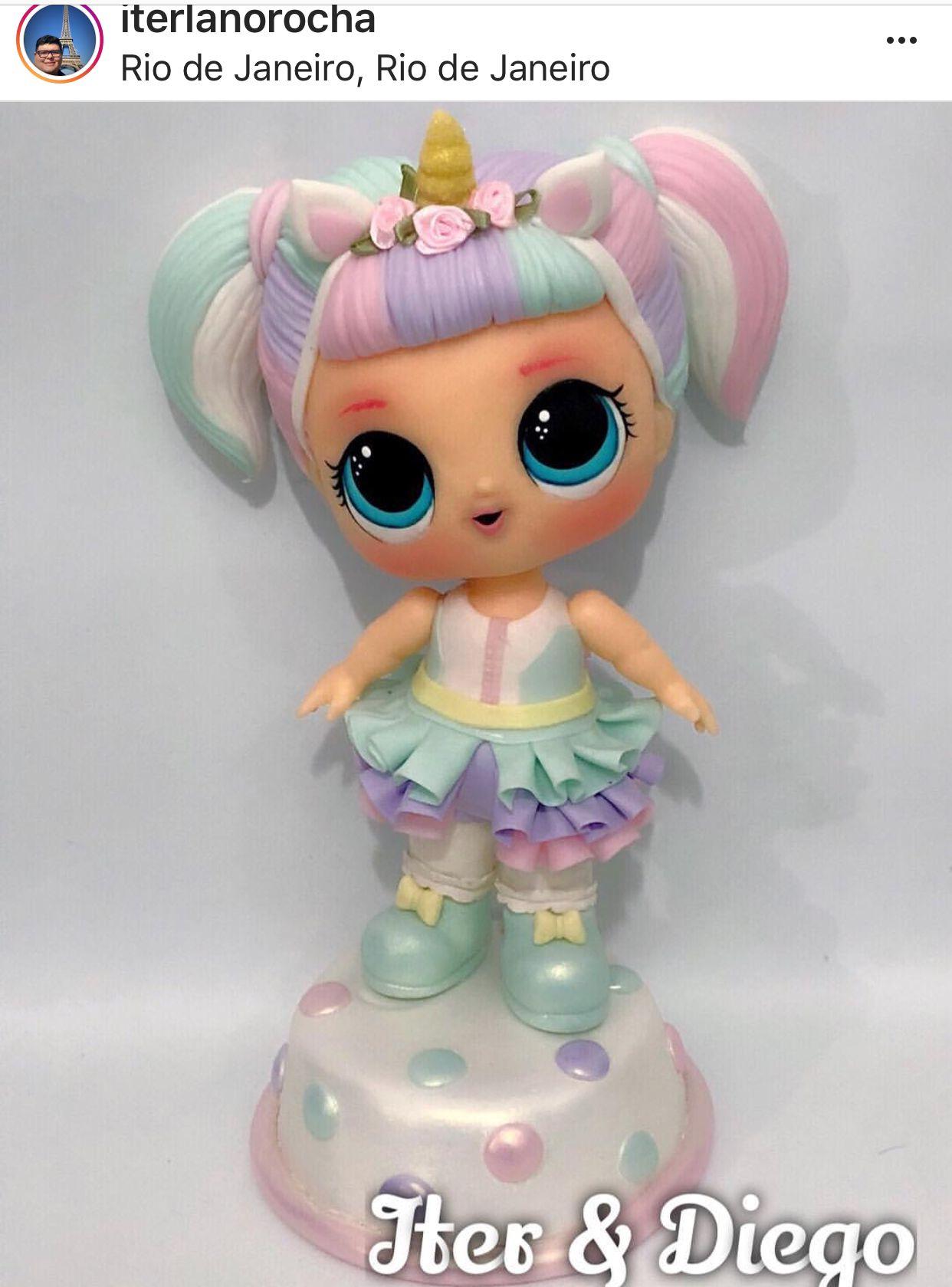 Lol Unicornio Porcelana Porcelana Fria Munecas Lol Y Porcelana