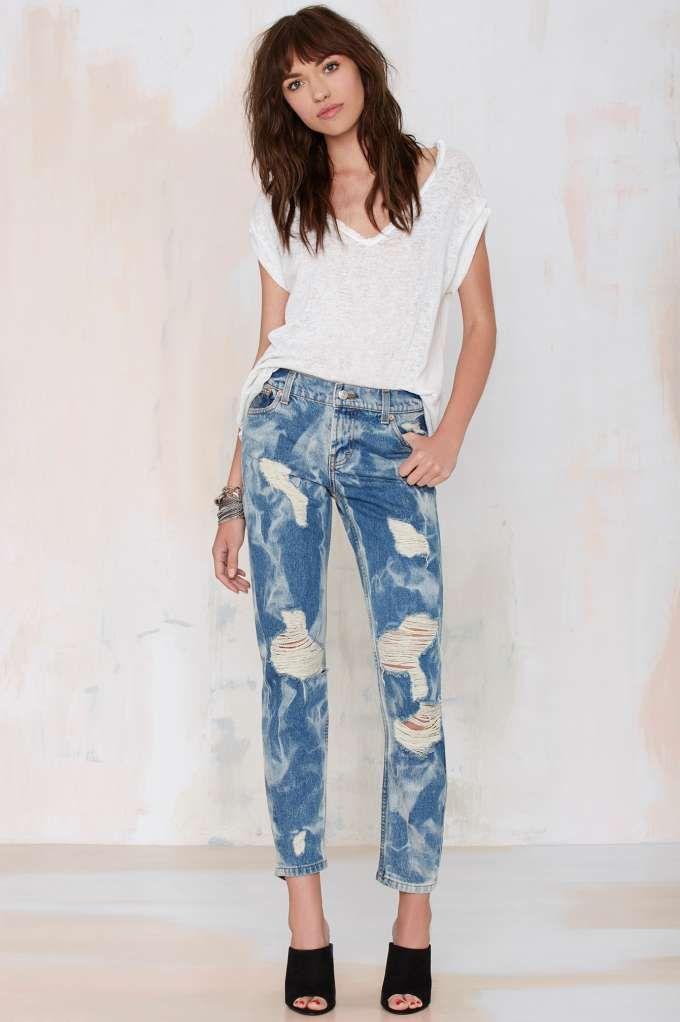 Fremont Plaid Shirt | Boyfriend jeans, Boys and Laundry