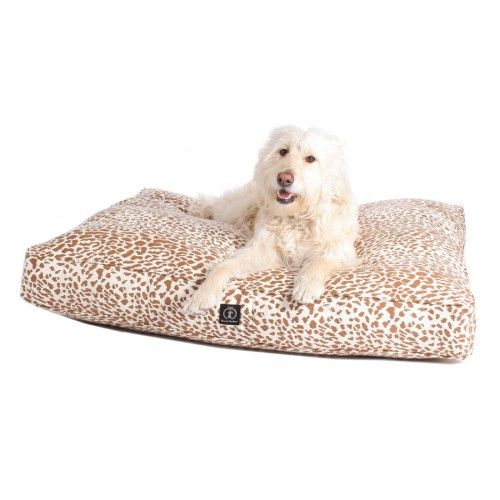 Safari Rectangle Hemp Dog Bed - Harry Barker