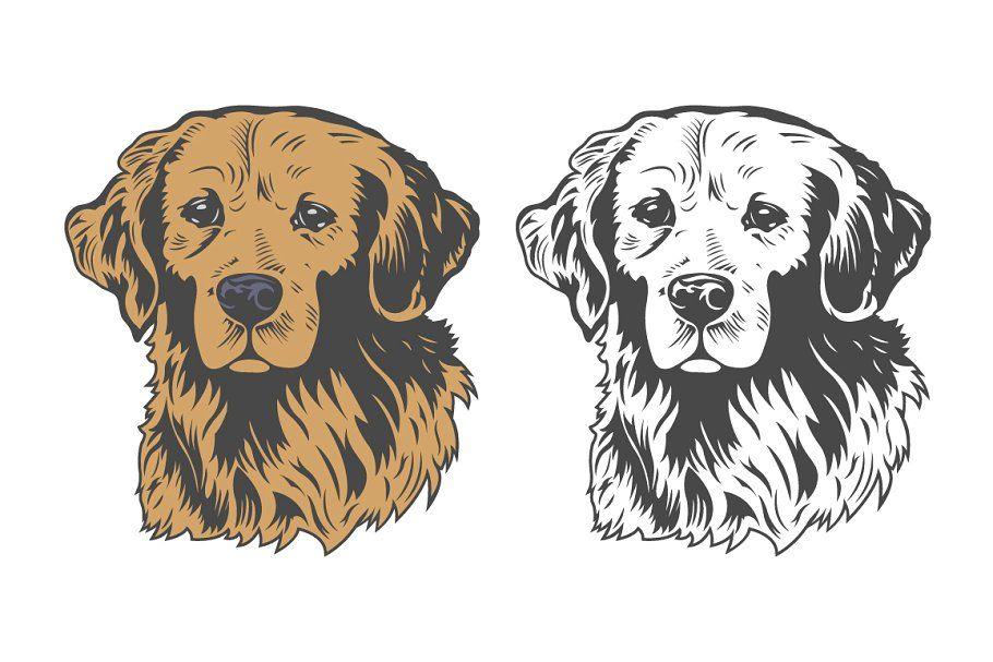 Dog Logo And Icons For Dog Club In 2020 Dog Club Dog Logo Dogs
