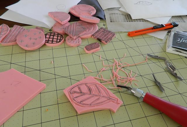fabric stamping {plus a shop discount code}