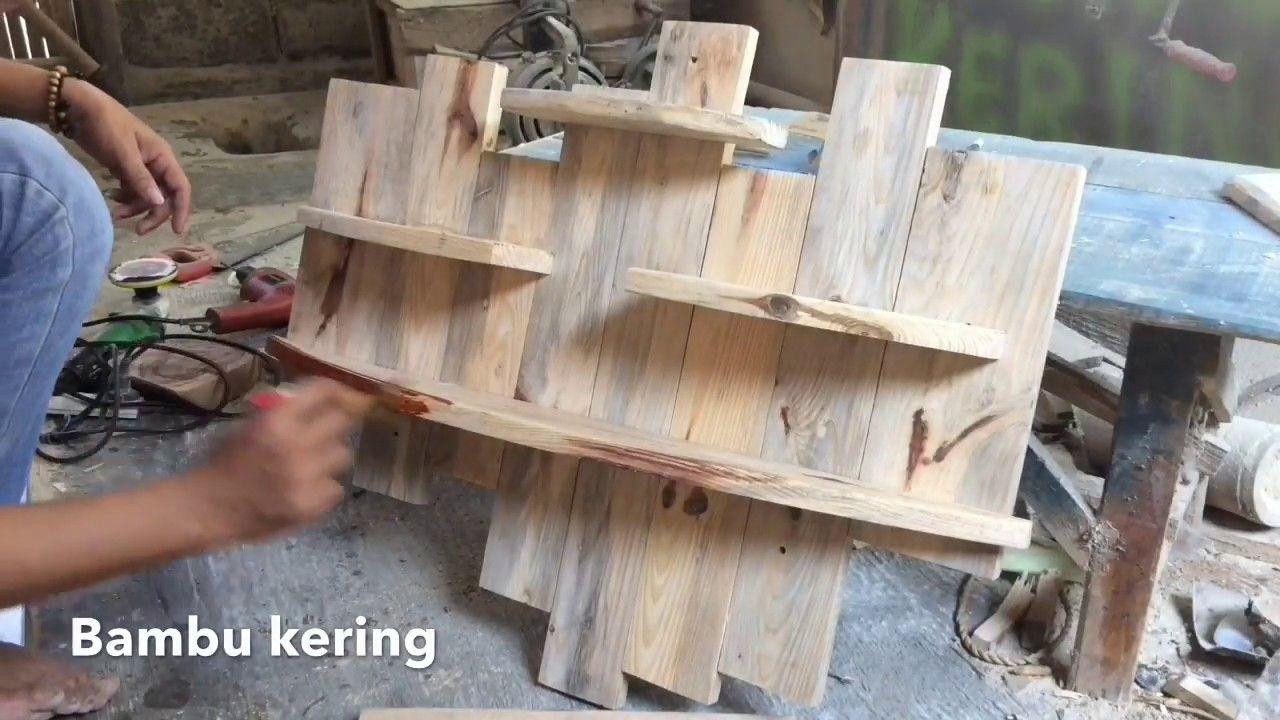 Cara Membuat Sendiri Rak Dinding dari Limbah Kayu Rak