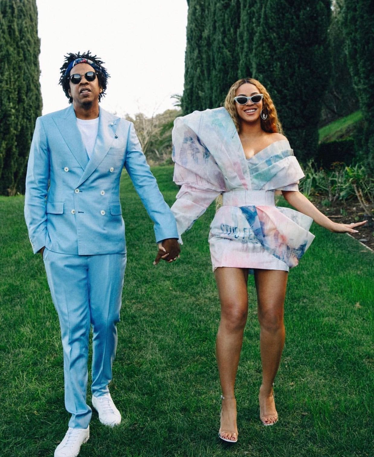 Beyonce Jay Z At Roc Nation Pre Grammy Brunch 2019 Beyonce Beyonce Style Beyonce Instagram
