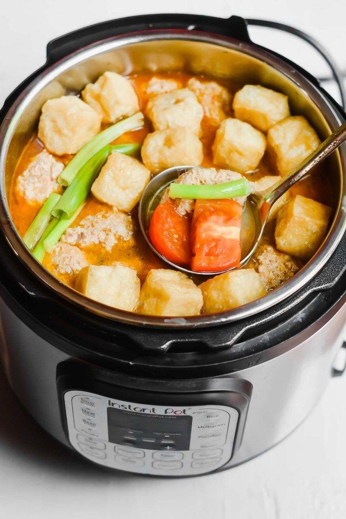 Instant Pot Vietnamese Crab Noodle Soup (Bun Rieu) – A Taste of Joy and Love