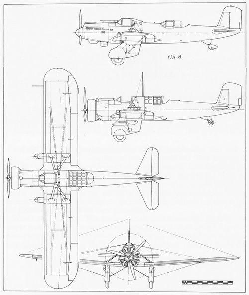 Classics Curtiss A-12 Shrike   A-12 Shrike   Classic, Floor plans