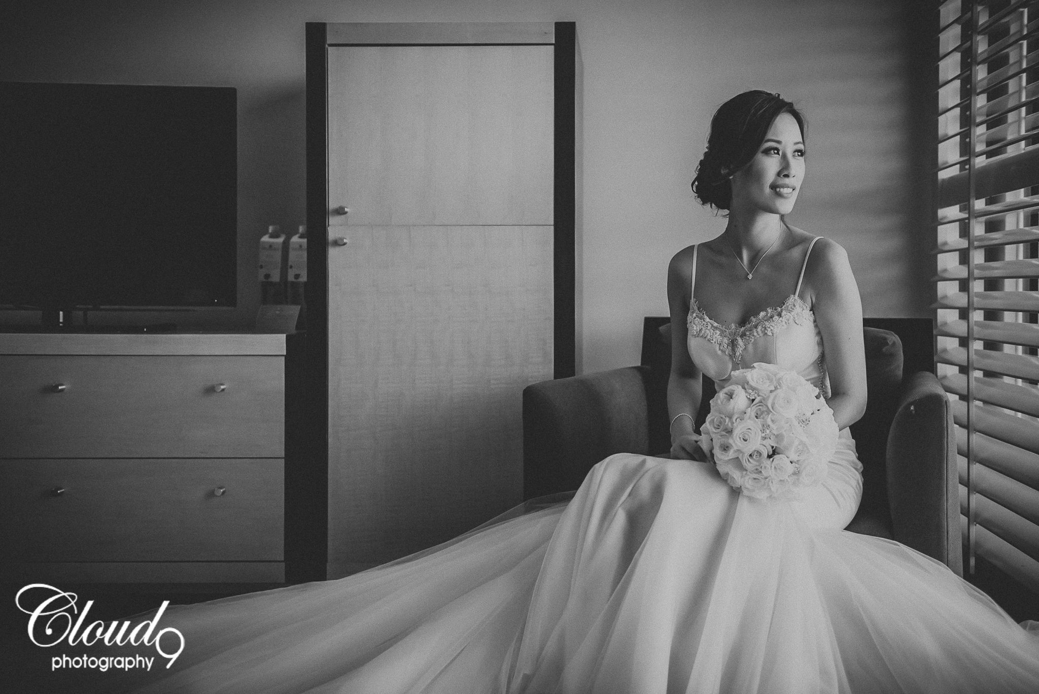 Her hubs is one lucky guy and he totally knows it this bride was
