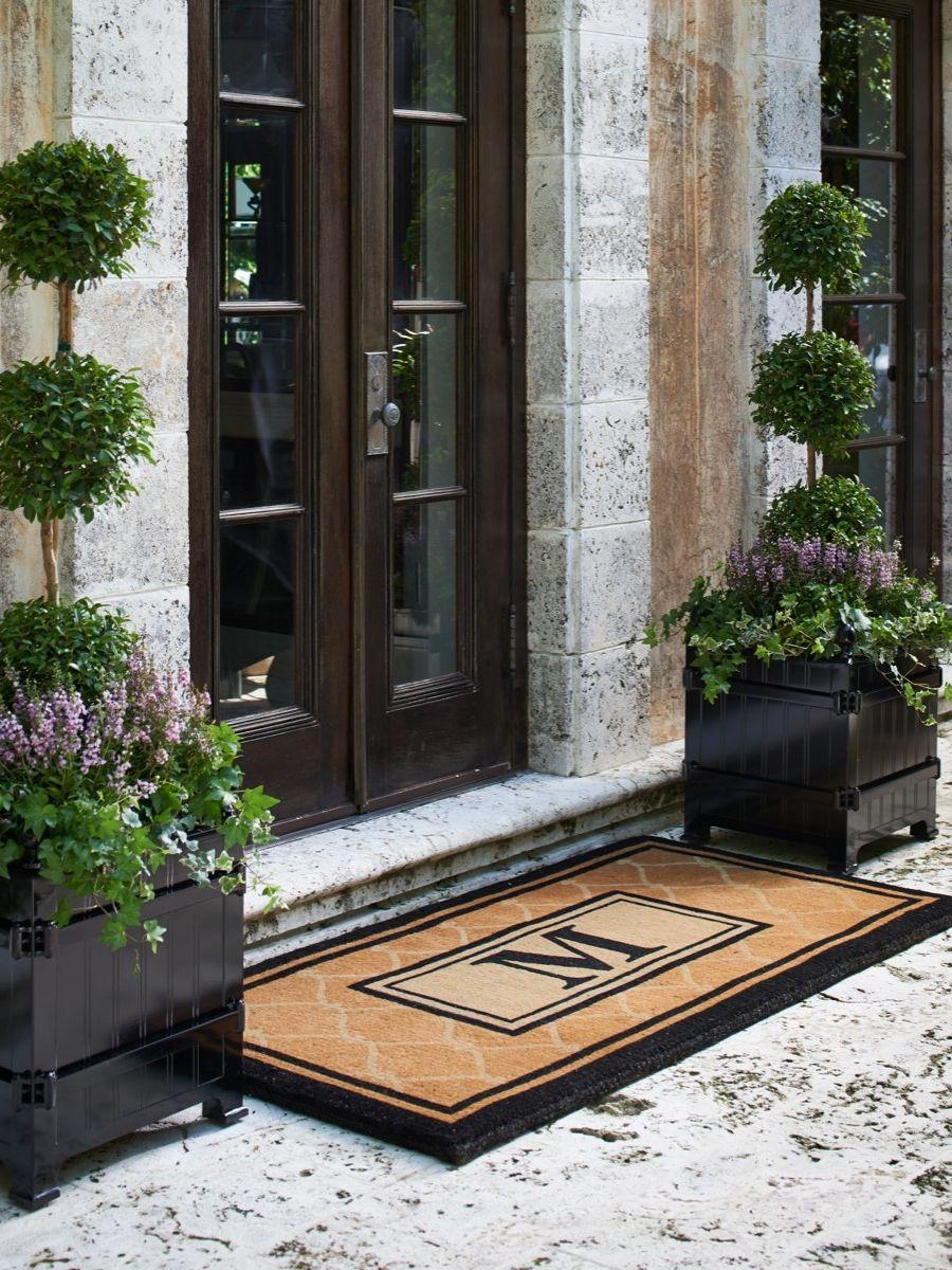 Doors Design: Front Door Planters
